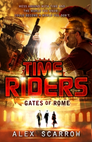 Anne Lauricella Alex-Scarrow-time-riders-5- Gates of Rome