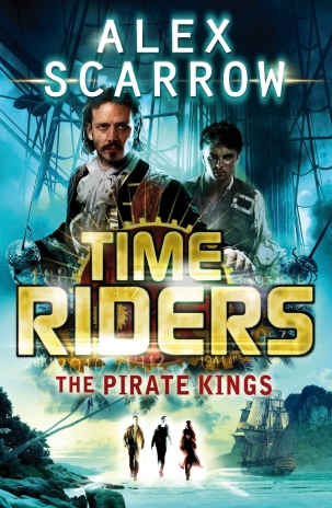 Anne Lauricella Alex-Scarrow-time-riders-7- The Pirate Kings
