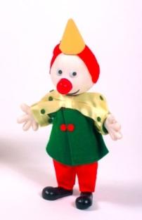 Anne Lauricella clown