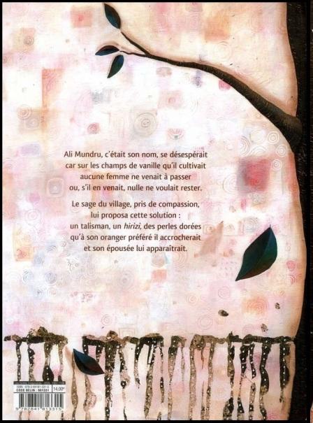 Anne Lauricella Le Secret de l'oranger 4e couv