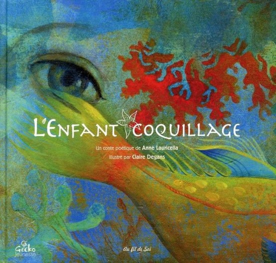 Anne Lauricella L'enfant coquillage couv
