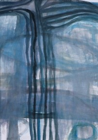 Anne Lauricella - Pascale Piron - aquarelle 36 x 26 - 2004