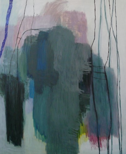 Anne Lauricella - Pascale Piron -Huile sur toile 170 x 140 - 2009