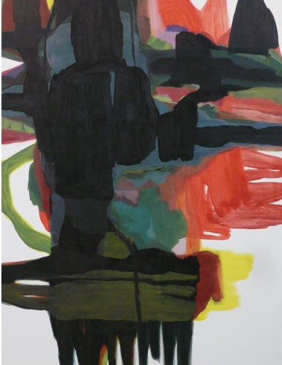 Anne Lauricella - Pascale Piron - huile sur toile 2015
