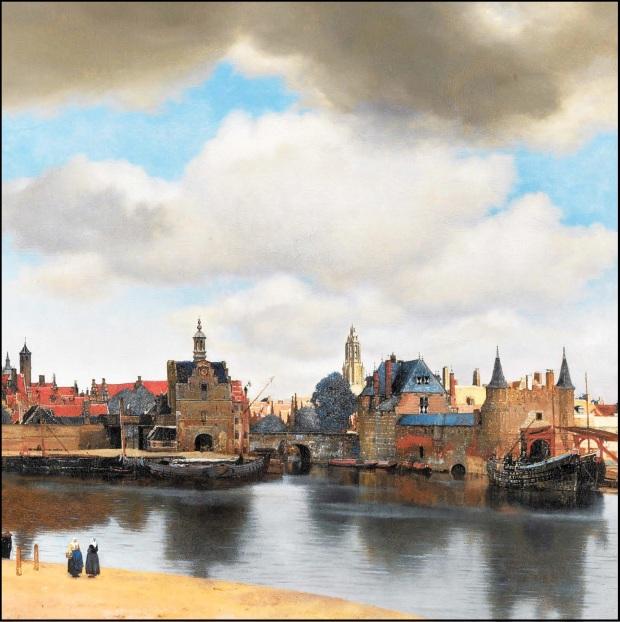 Ô Vermeer12 contour