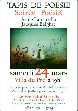 Anne Lauricella - Poésik 2