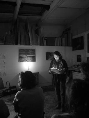 Anne Lauricella - Poésik au Lieu Improbable - 3 mars 2018