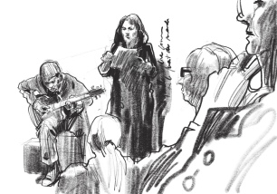 Anne Lauricella Poésik - dessin Michel Lauricella 2