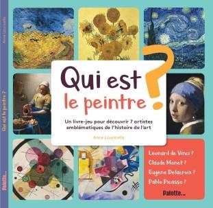 Anne Lauricella - Qui est le Peintre - Palette - Couv 1