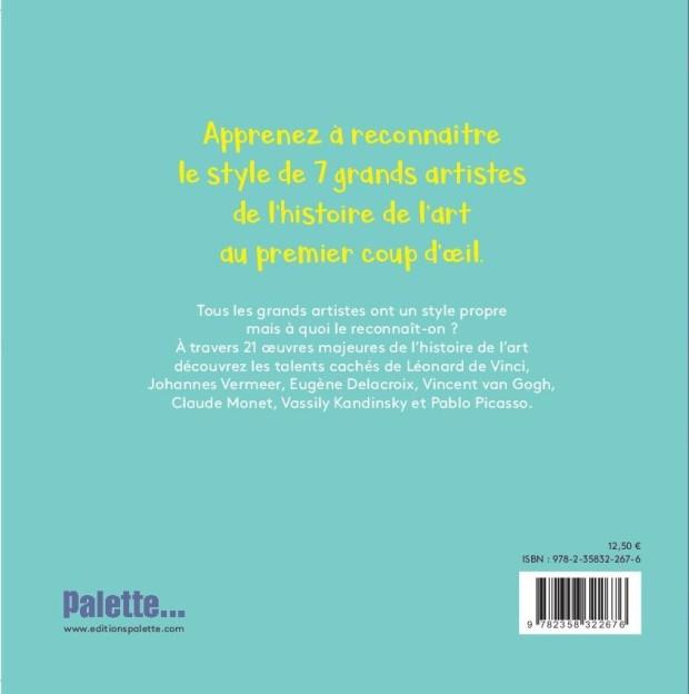 Anne Lauricella - Qui est le Peintre - Palette - Couv 2