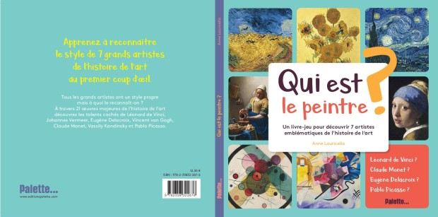 Anne Lauricella - Qui est le Peintre - Palette - Couv