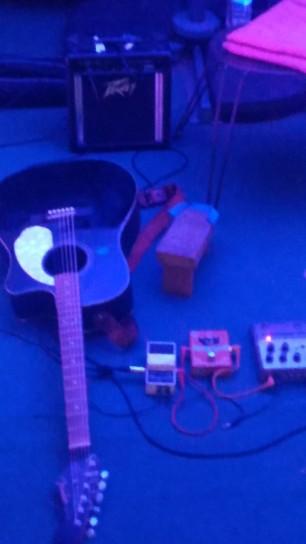 Conte musical - conteuse guitare - Ardèche Joyeuse Duo Sèves et Veines Restaurant Ginko Biloba 4