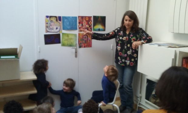 2 Paul Klee Contes Eliart Anne Lauricella montessori Peinture