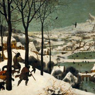 Anne Lauricella - Bruegel - Les Chasseurs dans la neige - Contes en Peinture