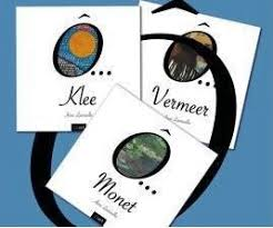 Anne Lauricella - Editions Eliart Collection Ô - Klee, Monet, Vermeer - Contes musicaux en peinture