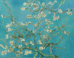 Anne Lauricella - Van Gogh Branches de cerisier - Contes en peinture