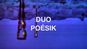 2 Duo Trio Poesik Eigenklang Anwesend Dijon - Nov 2019