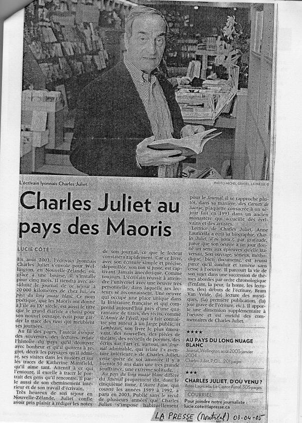 9 Simple mention dans La Presse Montréal